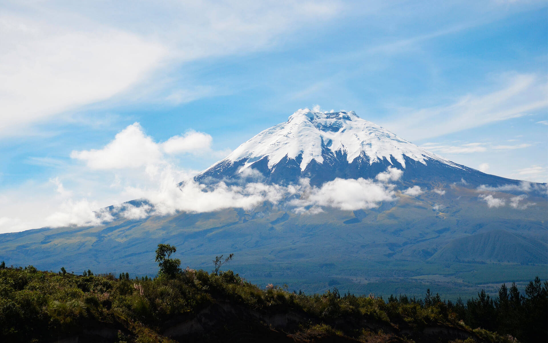 Cotopaxi. trip with galapagos center