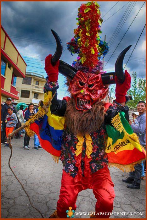 Diablada pillareña-ecuador cultural events